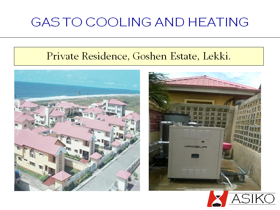 Gas to Cooling and Heating